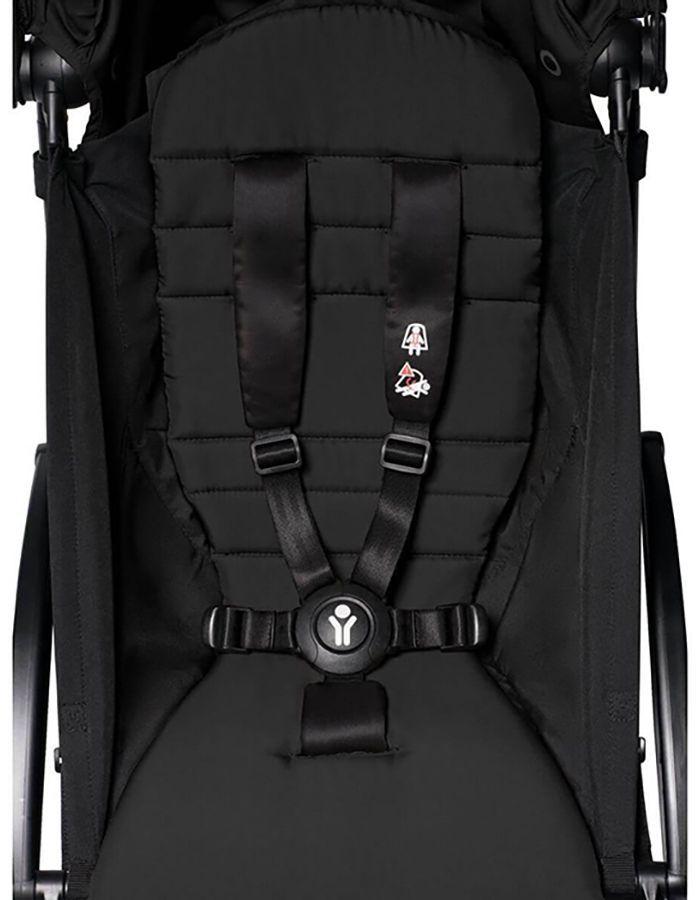 carrito-yoyo2-6m-babyzen-negro-colchoneta negra