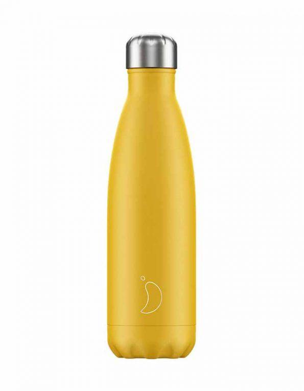 botella-para-agua-chillys-amarillo-mate-wearekiddys