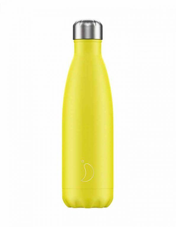 botella-para-agua-chillys-neon-amarillo-wearekiddys