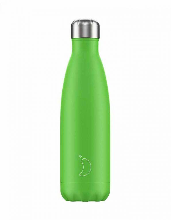botella-para-agua-chillys-neon-verde-wearekiddys