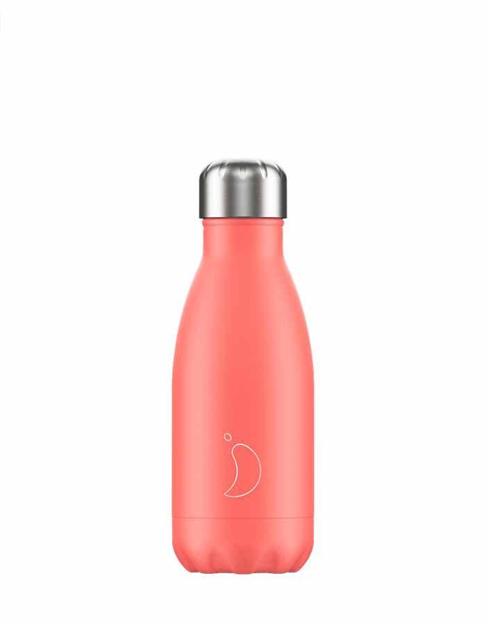 botella-para-agua-chillys-pastel-coral-wearekiddys-260ml