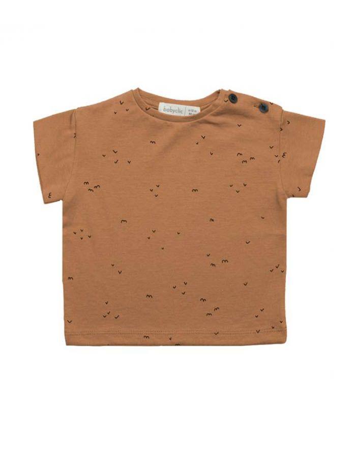 camiseta babyclic manga corta delta toffee wearekiddys