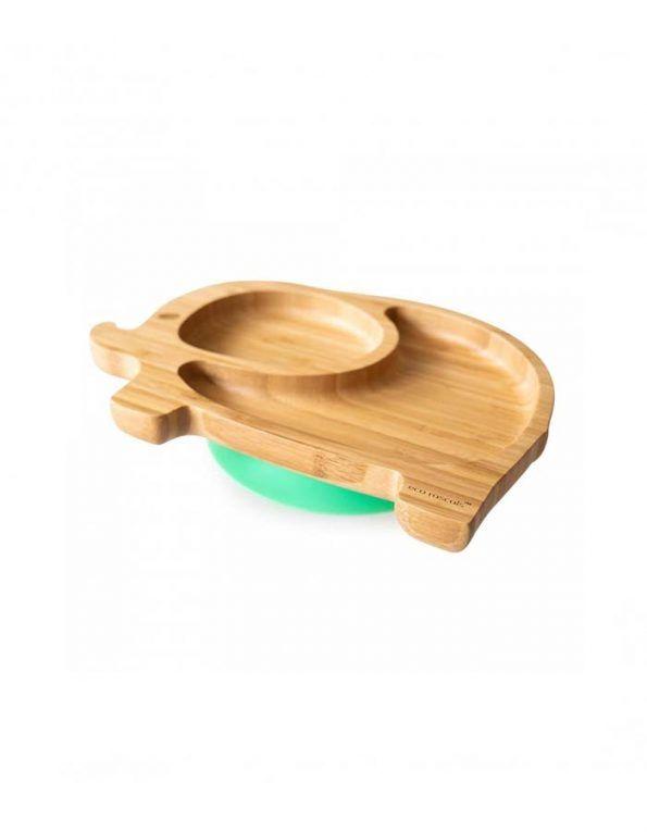 plato-con-ventosa-de-bambu-de-eco-rascals elefante 1