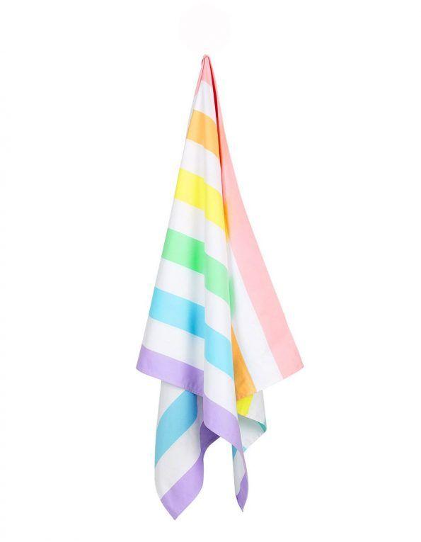 toalla playa microfibra arcoiris pastel wearekiddys c
