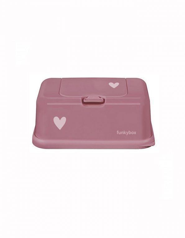 portatoallitas funkybox grande rosa corazon wearekiddys