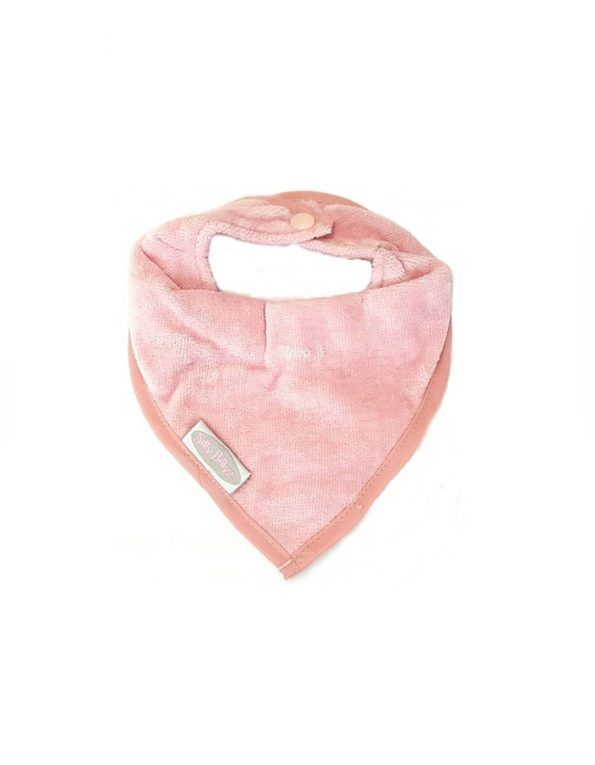 bandana-infantil-antimanchas-silly-billyz-rosa-empolvado