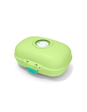Caja para merienda Mombento color verde