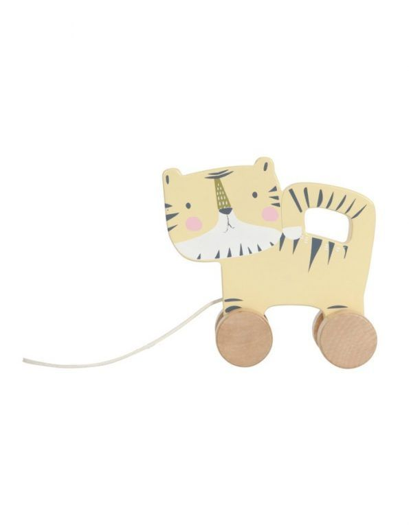tigre madera arrastrable little dutch