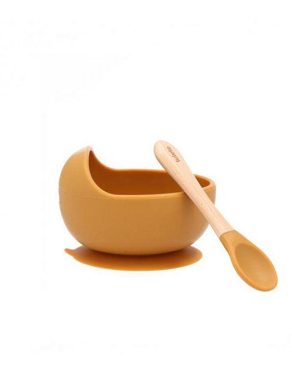 bol-con-ventosa-y-cuchara-de-silicona color mostaza