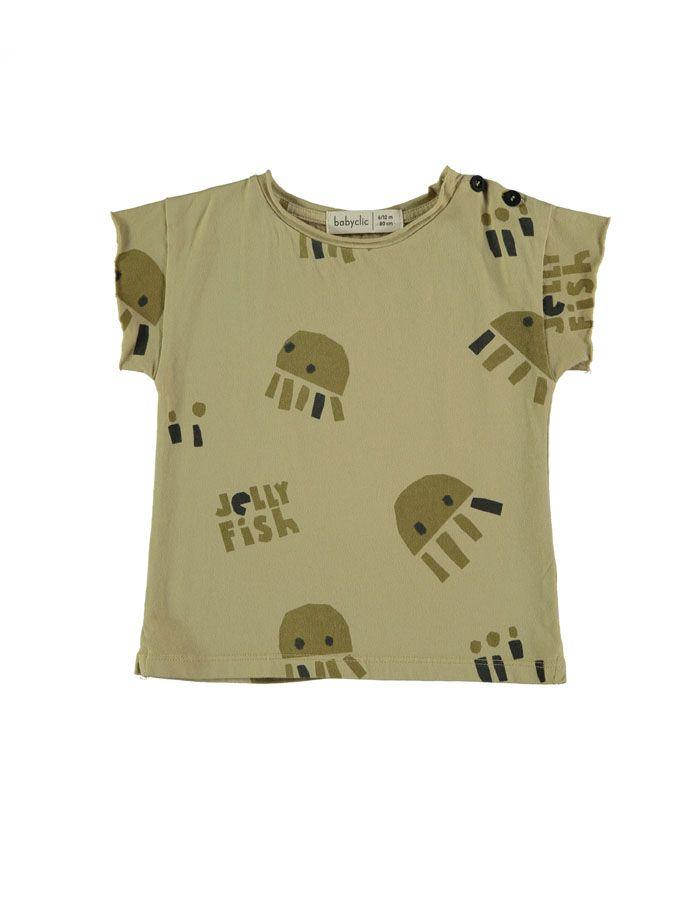 camiseta Sea life baby clic