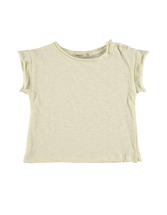 camiseta modelo ivory baby clic
