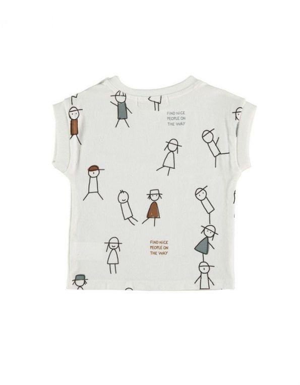camiseta modelo nice people baby clic