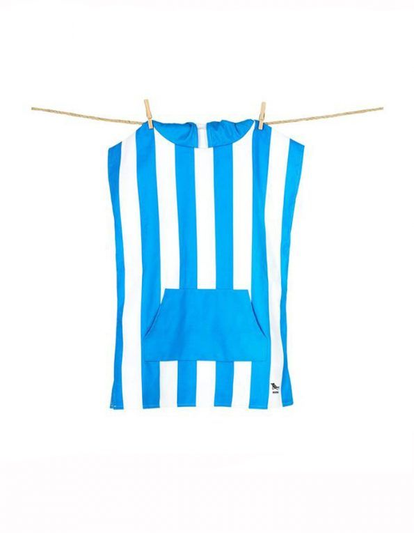 poncho playa dock & bay color azul A