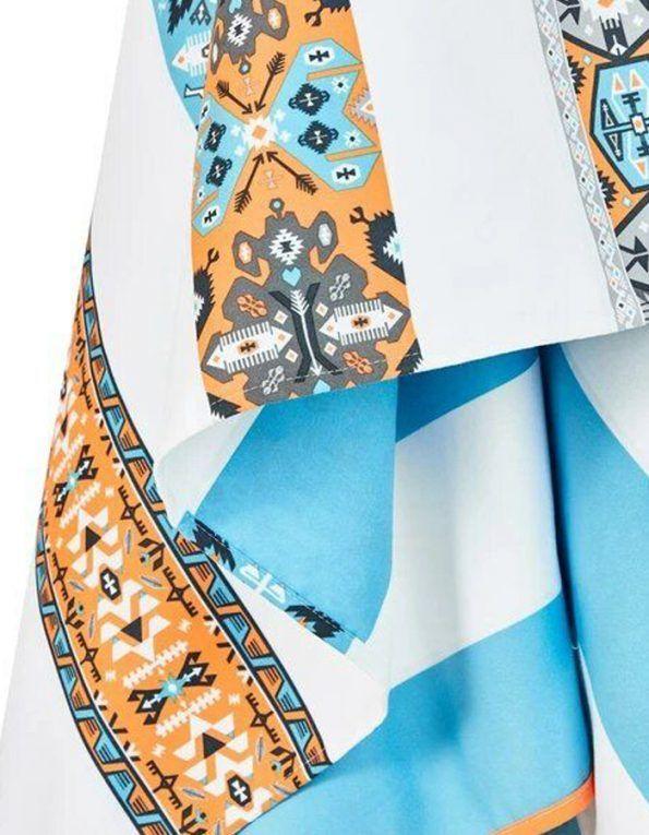 toalla playa microfibra bohemian azul wearekiddys c