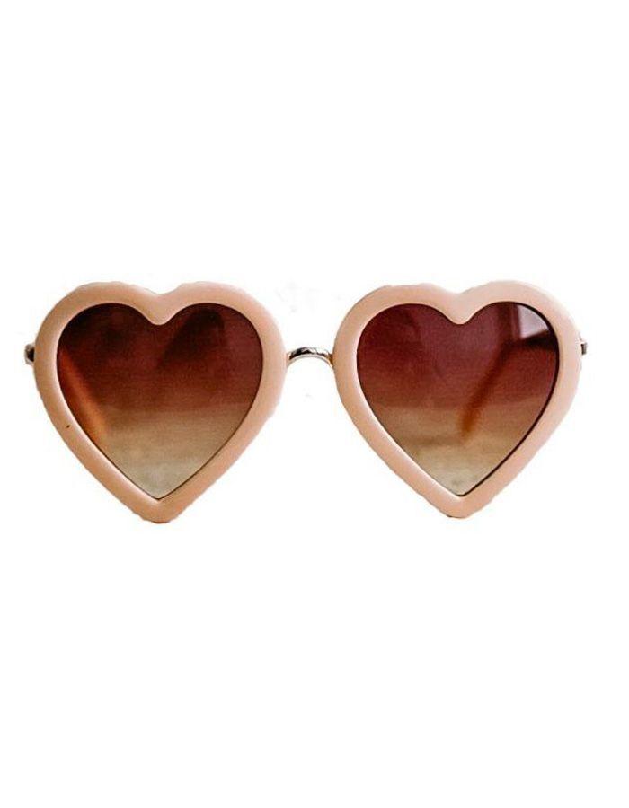 gafas infantiles corazón melocotón b