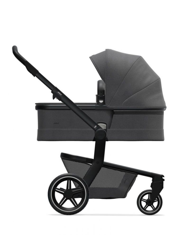 Coche de paseo Joolz Hub + capazo y silla AWESOME ANTHRACITE