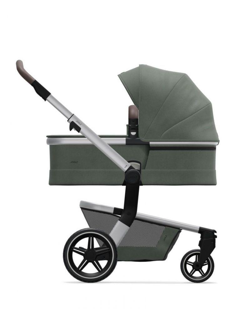 Coche de paseo Joolz Hub + capazo y silla MARVELLOUS GREEN