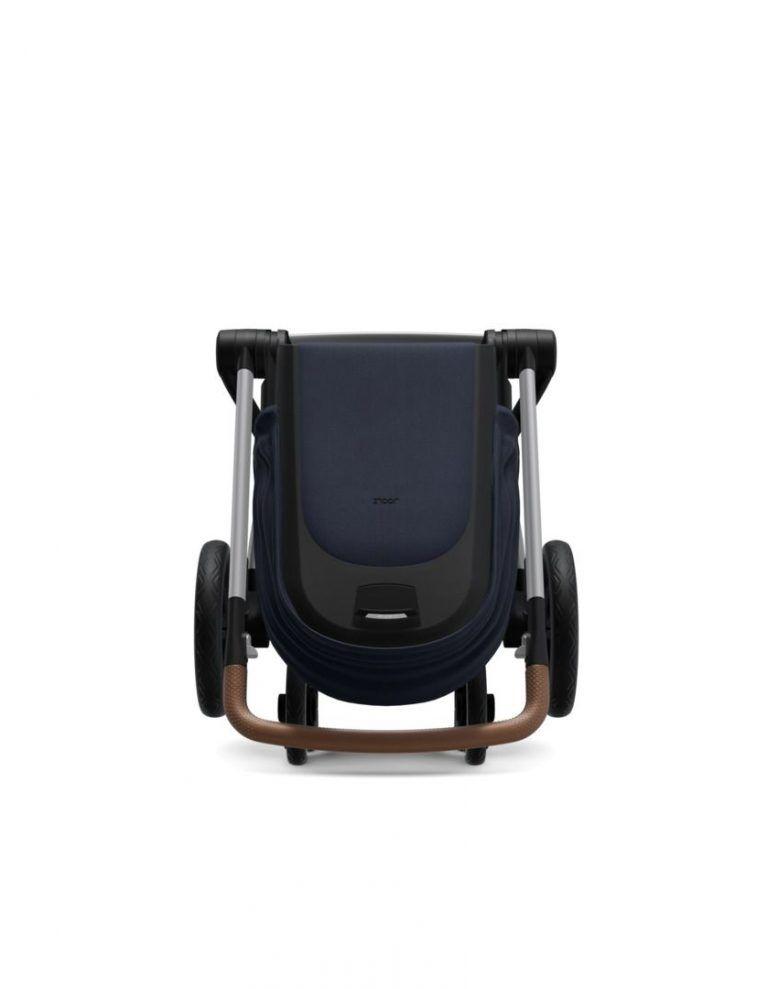 Coche de paseo Joolz Hub + capazo y silla CLASSIC BLUE
