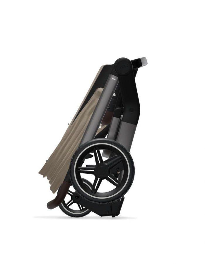 Coche de paseo Joolz Hub + capazo y silla TIMELESS TAUPE