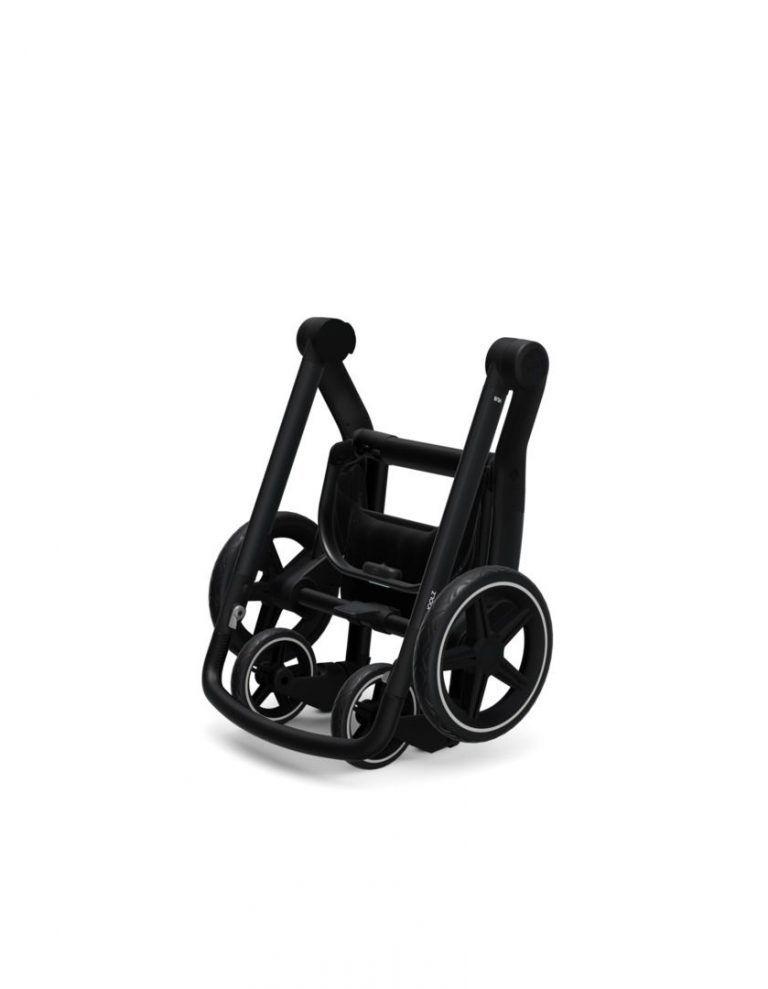 Coche de paseo Joolz Hub + capazo y silla BRILLIANT BLACK
